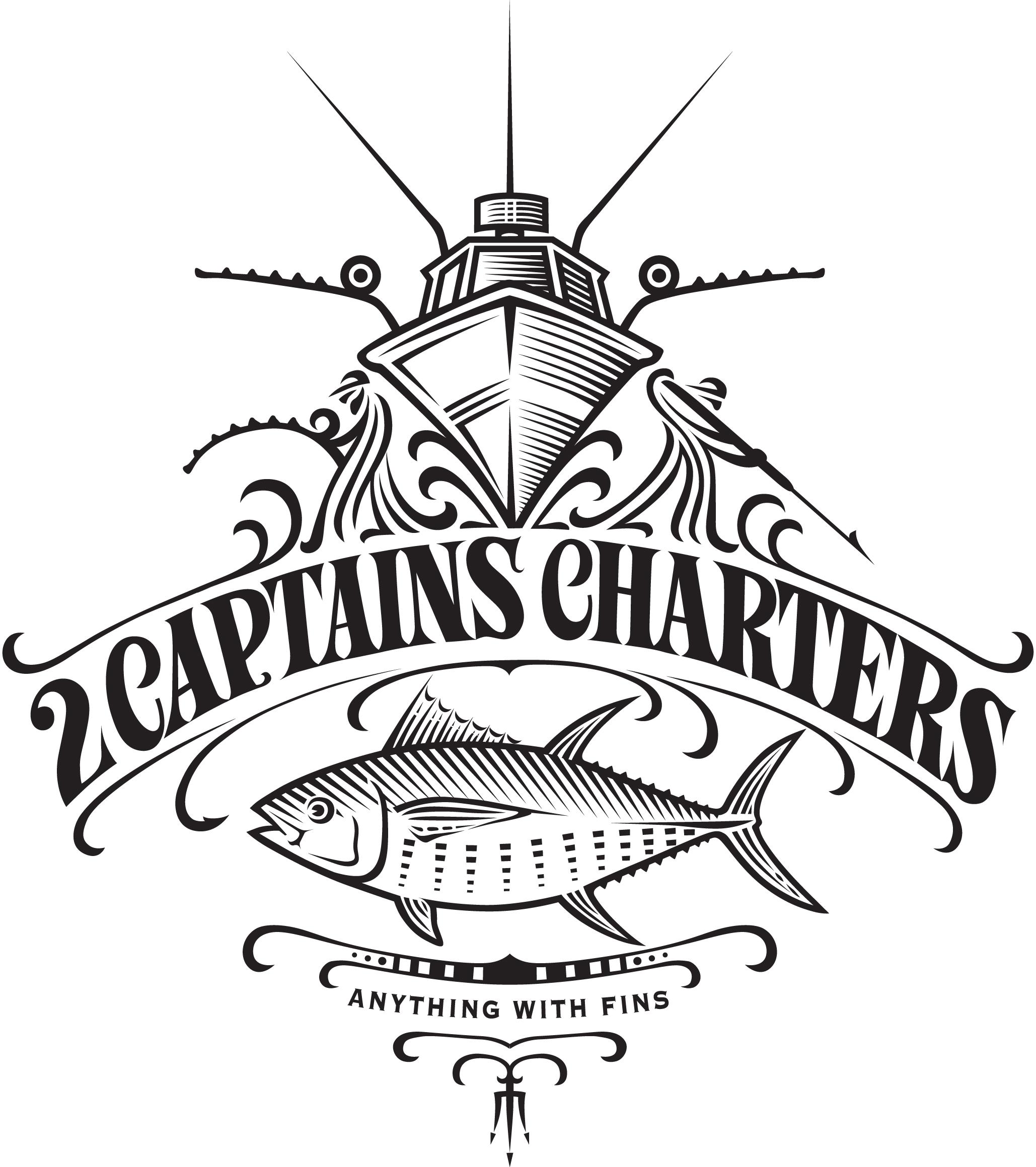 рыбацкая лодка логотип